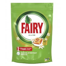 Fairy Todo en 1 Lavavajillas Naranja 60 Cápsulas