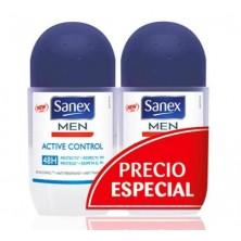 Sanex Men Active Control Roll On 50 ml x 2
