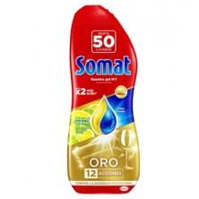Somat Oro Gel Lavavajillas Limón 900 ml