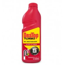 Destop Gel Desatascador Turbo 1 Litro