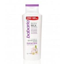 Babaria Body Milk Almendras Dulces 500 ml