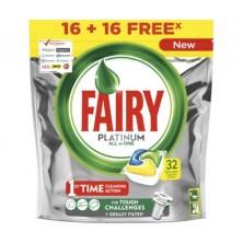 Fairy Lavavajillas Platinum Limon 16 +16