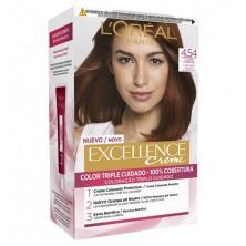 L'Oreal Excellence Creme Tinte 4.54 Caoba Cobrizo