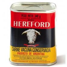 Hereford Carne Vacuna Conservada 340 gr